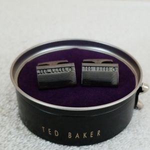 Ned Ted Baker Romae Corner Crystal Cuff Links